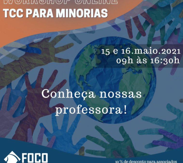 TCC para minorias – Workshop online